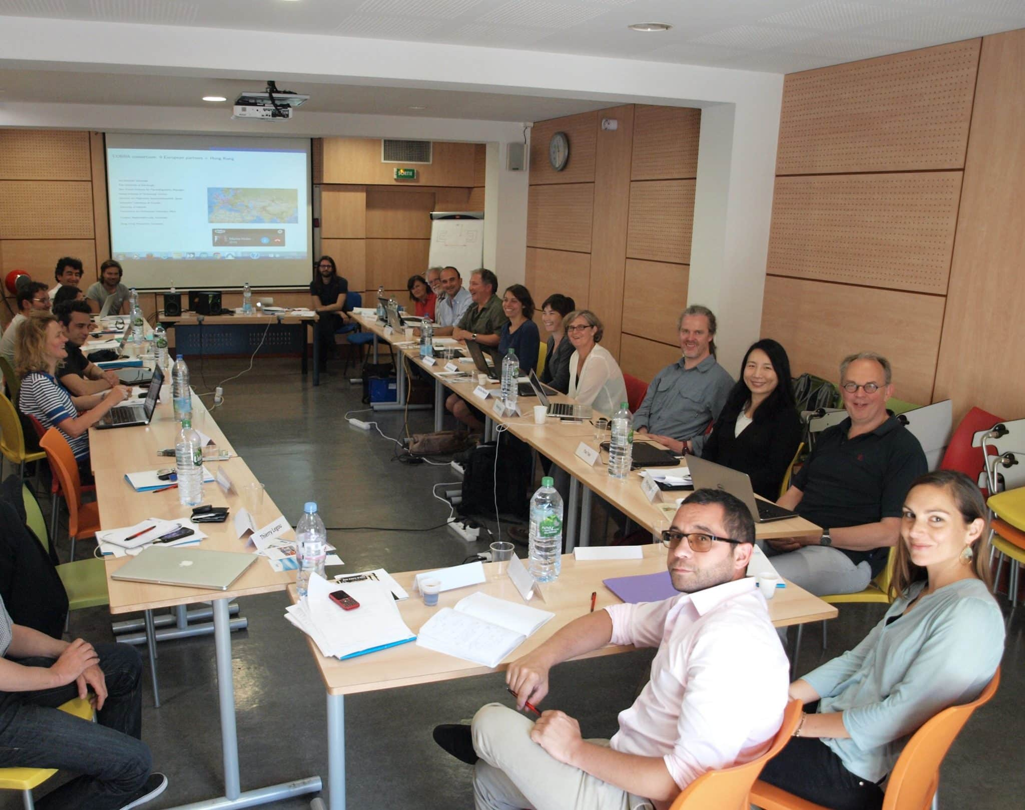 General view of the room at the COBRA kick-off meeting,